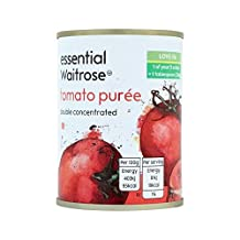 Double Concentrated Italian Tomato Puree essential Waitrose 140g - Pack of 2