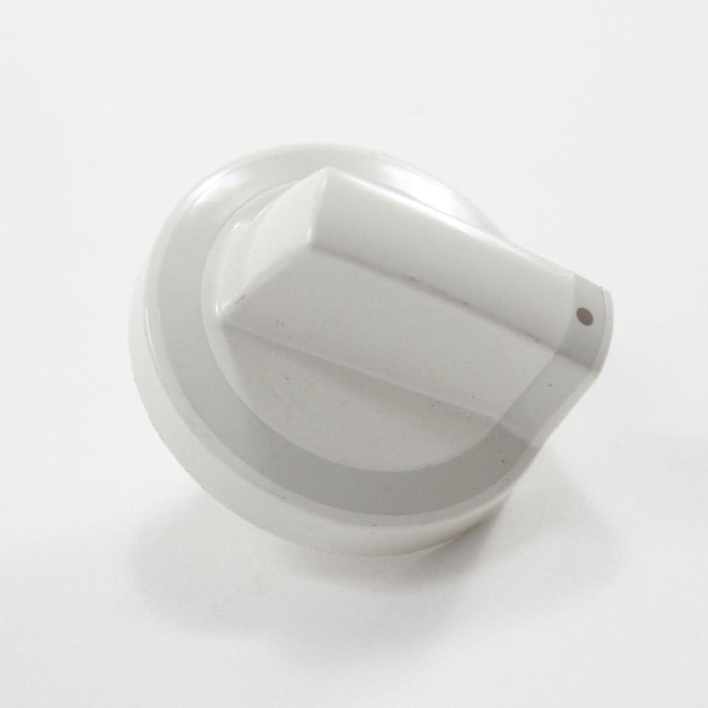 Whirlpool W10316665 Cooktop Element Control Knob Genuine Original Equipment Manufacturer (OEM) Part Biscuit