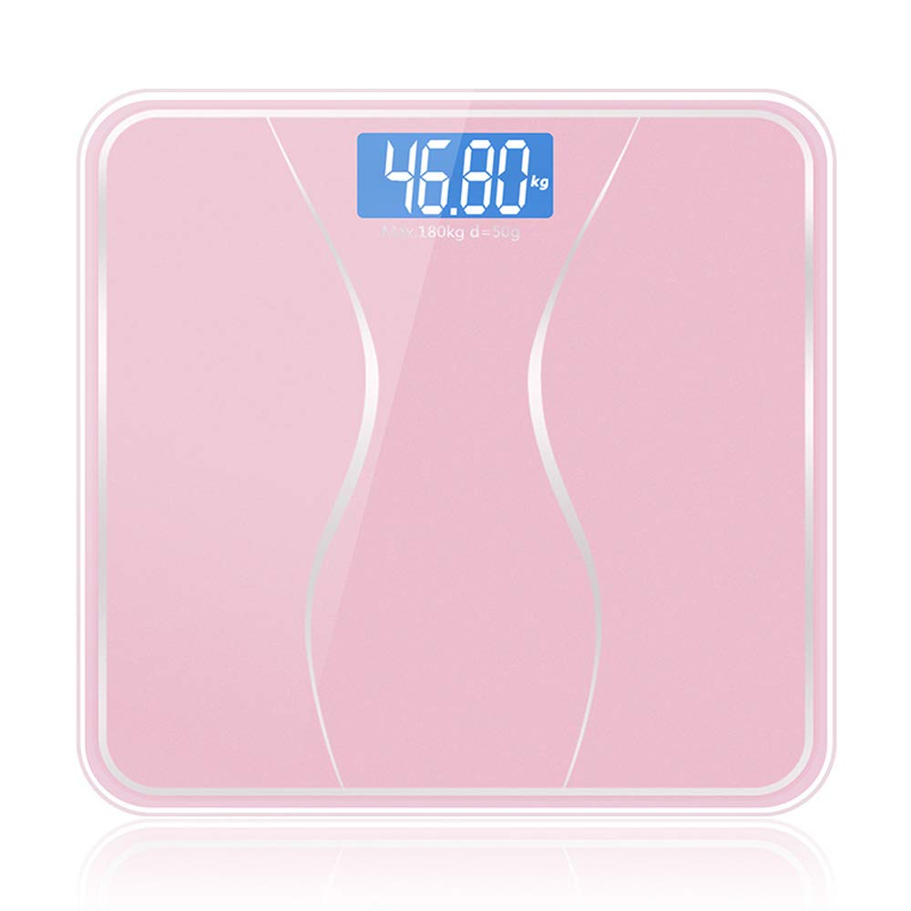 Smart Scale Highly Accurate Weight Measurements with Multi-Point Sensor, Automatic Shutdown, LCD Display, Warn of Under Voltage/Overload