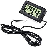 TRIXES Nuovo mini termometro digitale con display LCD per la rilevazione della temperatura di frigoriferi