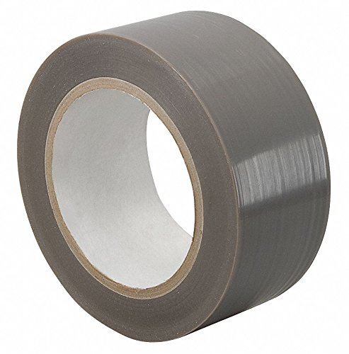 PTFE Film Tape, Silicone Adhesive, 6.50 mil Thick, 6'' X 36 yd., Tan, 1 EA