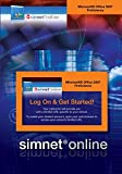 img - for SimNet for Office 2007 Proficiency Registration Card book / textbook / text book