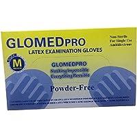 قفازات الفحص المطاطية GLOMEDpro (مقاس صغير)