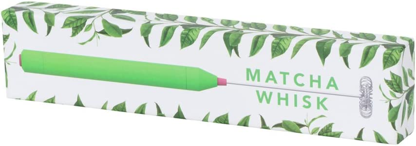 W/&P DV-MAT-WHISK Matcha Whisk Can be used to Froth Blend /& Mix Green