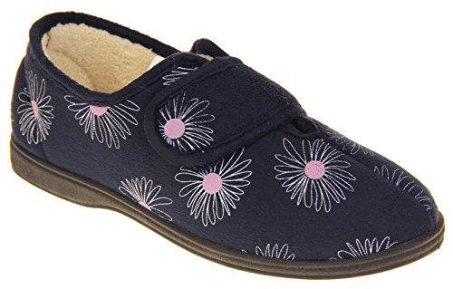 Footwear Daim Chaussons Scratch Synthétique Dunlop Marine Studio Femme Bleu gIrwgZq