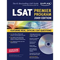 Kaplan LSAT 2009 Premier Program (w/ CD-ROM)