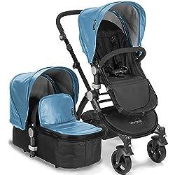 babyroues Letour Lux IIB Stroller, Blue