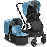 babyroues Letour Lux IIB Stroller, Blue Review