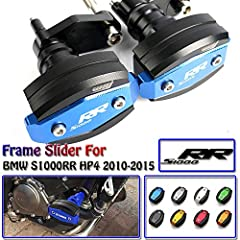 Features: 100% Brand New, Never Mounted, High Quality Anodized finishes to prevent from oxidizing and scratche High Quality Construction Engine Crash Pad Protector Frame Slider High torsion and stress resistance. Desighed To Help Eliminate Da...