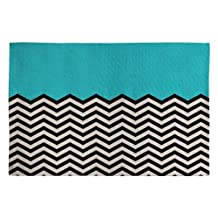 DENY Designs Bianca Green Follow The Sky Woven Rug, 4 by 6-Feet