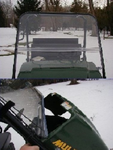 2001 Full Metal - Extreme Metal Products Kawasaki Mule 3000 and 3010 (2001-2015) Full Windshield. 9653