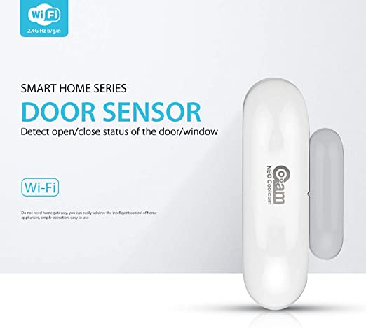 NEO Coolcam Smart WiFi Door Alarm Home Security Sensor Detector Battery Powered