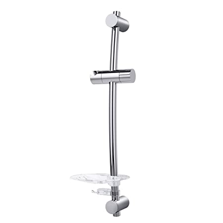 Shower Rails - Triton Lucas Curved Shower Riser Rail - Chrome ...