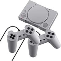 HJKPM Plug and Play Game Consoles, Classic NES Retro Console Built-in 620 Advanced Games PS1 TV Game Console Appearance…