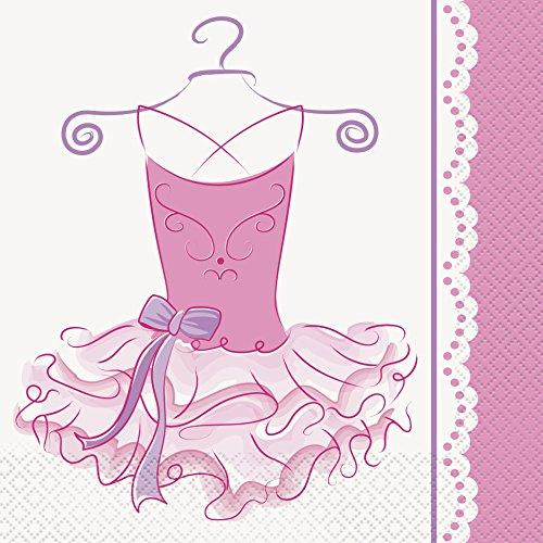 Ballerina Tutu Lunch Napkins (Tutu Ballerina Party Napkins, 16ct)