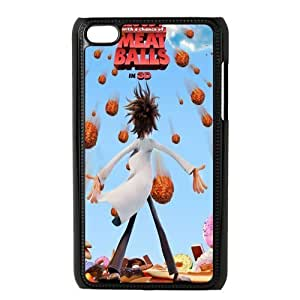 Custom Cloudy With A Chance Of Meatballs Back Cover Case for ipod Touch 4 JNIPOD4-399