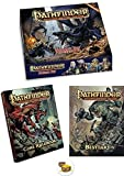 Bundle of Pathfinder Beginner Box and The Core Rulebook Hardcover and The Bestiary 1 Hardcover Book...