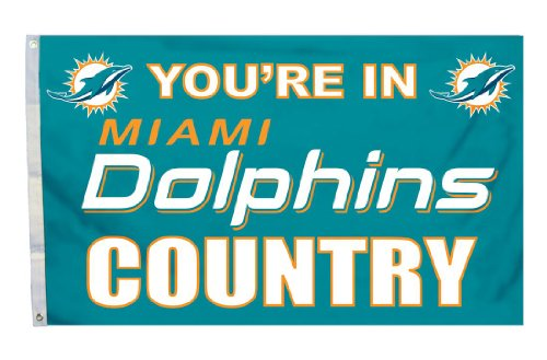 Miami Dolphins Nfl Banner Flag - 3
