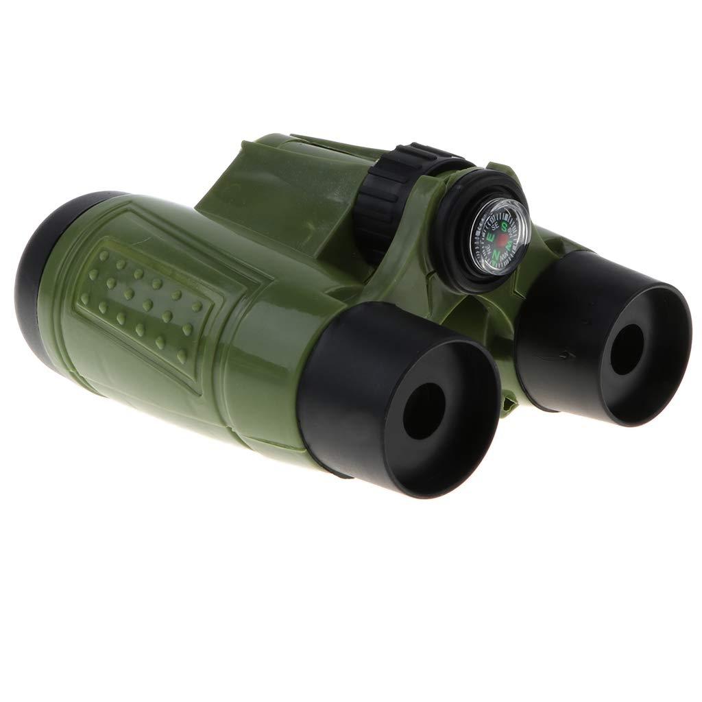 B Blesiya Juguete de Telescopio Binocular Pl/ástico Aumento 6X con Correa Colgante Juego Educativo Temprano para Beb/és Ni/ños