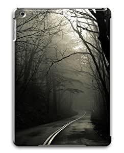 Dark Road Forest Polycarbonate Case Cover For Apple iPad Air/ iPad 5th Generation