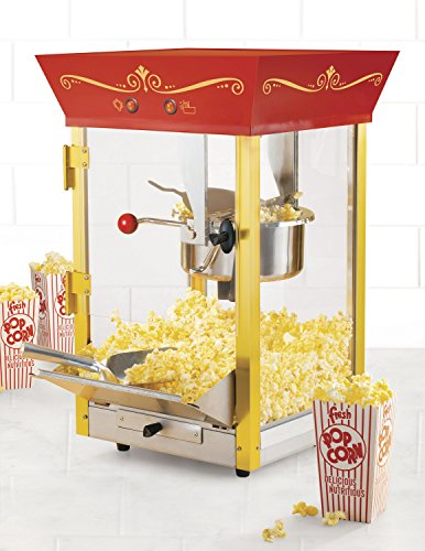 082677390059 - Nostalgia CCP610 59-Inch Commercial 8-Ounce Kettle Popcorn & Concession Cart carousel main 3
