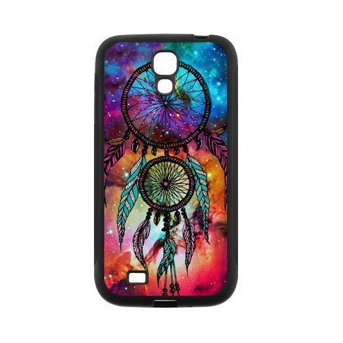 Rubber Cell Phone Covers (Space Nebula DreamCatcher Protective Rubber Back Fits Cover Case for SamSung Galaxy)
