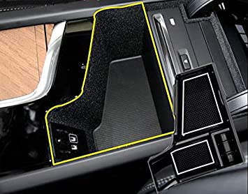 Auto Central Console Aufbewahrungsbox Kompatibel Mit Xc60 2018 Xc90 2016 2017 Mit Cd Spieler Autozubehör Innenfront Handschuhfach Mittelkonsole Armlehne Organizer Tray Halter Automatik Auto