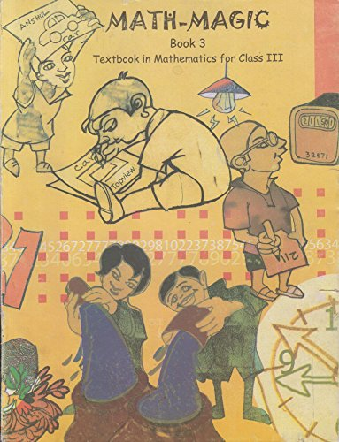 Math Magic Textbook in Mathematics for Class - 3 - 325