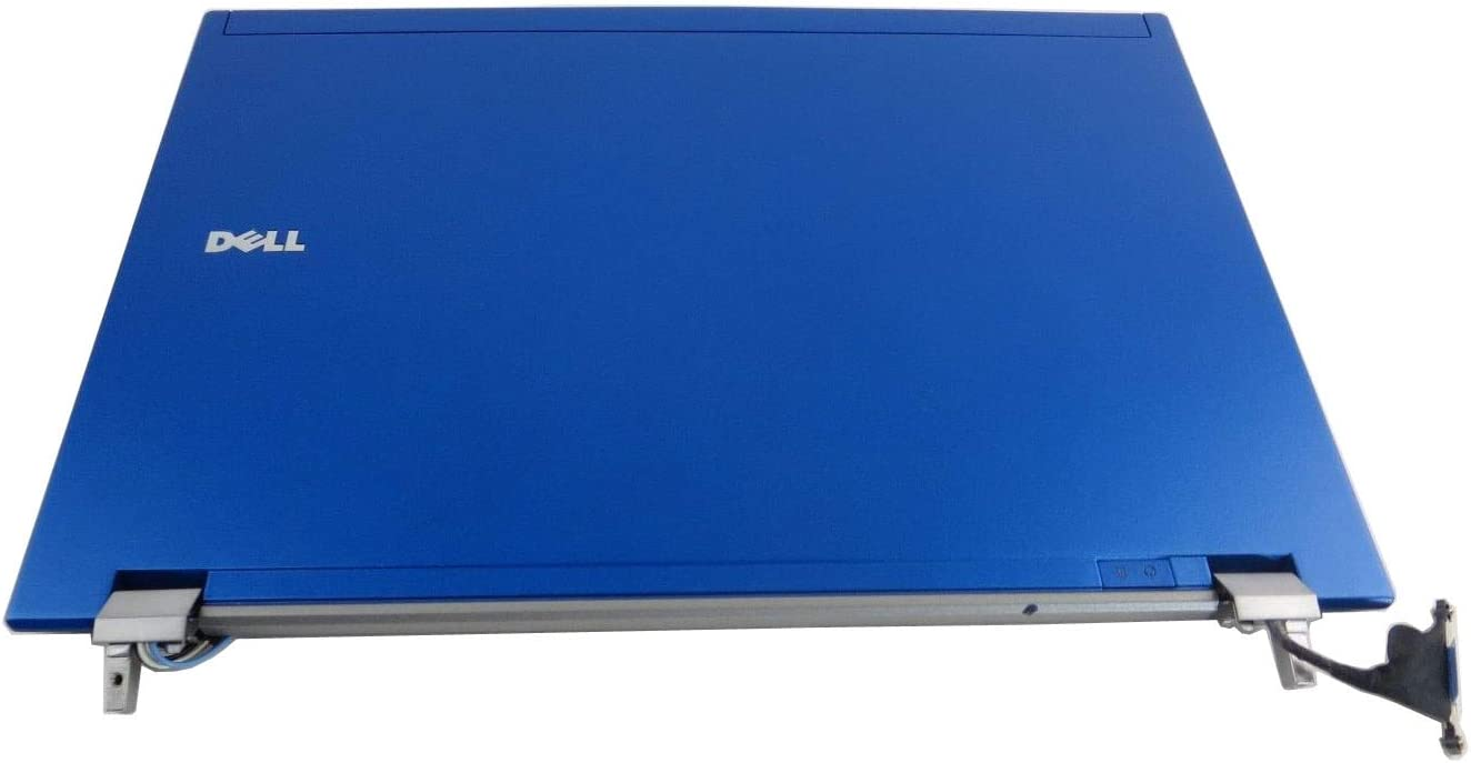 """PWFVY - Blue - Dell Latitude E4310 13.3"""" LCD Back Cover Lid Assembly with Hinges - PWFVY - Grade B"""