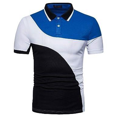 BOLAWOO Camisa De Polo De Los Hombres De Verano Mode De Informal ...