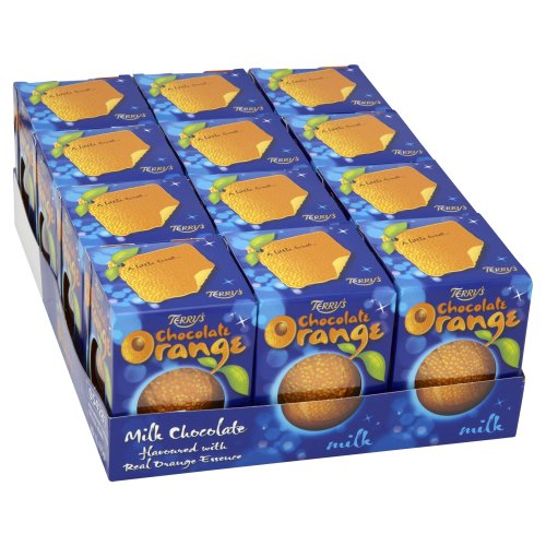 Kraft Terry's Milk Chocolate Orange 175 G (Pack Of 12) by Kraft