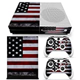 Cheap GoldenDeal Xbox One S Console, Controller and Kinect Skin Set – USA Flag – XboxOne Vinyl