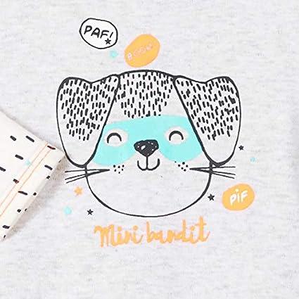 6 mois Taille Pyjama b/éb/é Mini Bandit Petit B/éguin