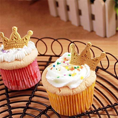 Cake Decorating Supplies - 50pcs Pcak Crown Shape