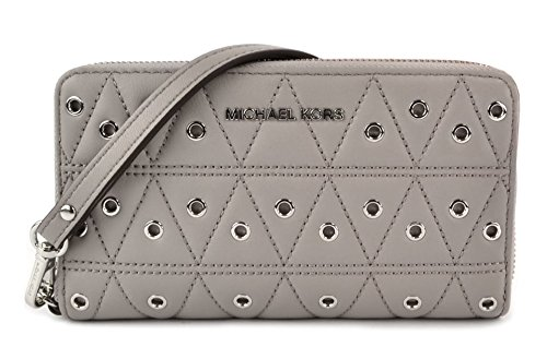 s Leather Multi-functional Wallet - Grey - 32F7SFDE9O-081 ()