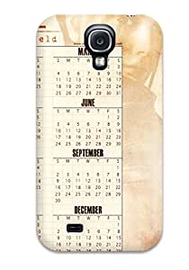 New Style Case Cover ZKfAsdS6651vAFyF Claire Redfield Calender 2012 Compatible With Galaxy S4 Protection Case