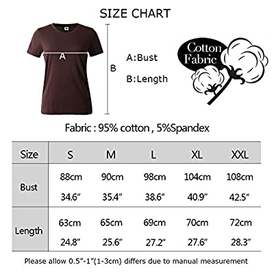 YITAN Women Tees Teen Girl Tops Graphic Cute Funny T shirt