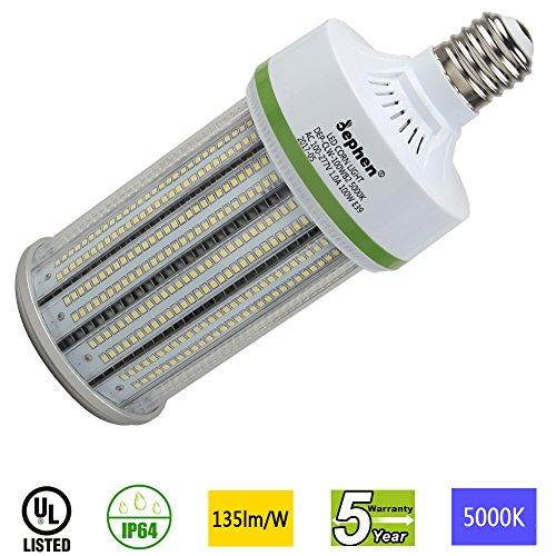 Dephen 100W Led Corn Light Bulb, Mogul E39 Base, 13500 Lumens, 5000K, 700W Incandescent Equivalent, Replacement for Metal Halide HID, CFL, HPS Bulbs by dephen