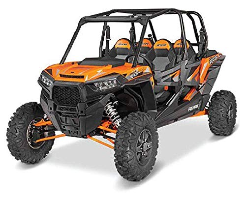 Polaris RZR XP 4 Turbo EPS 1:18 Scale (Spectra Orange) -