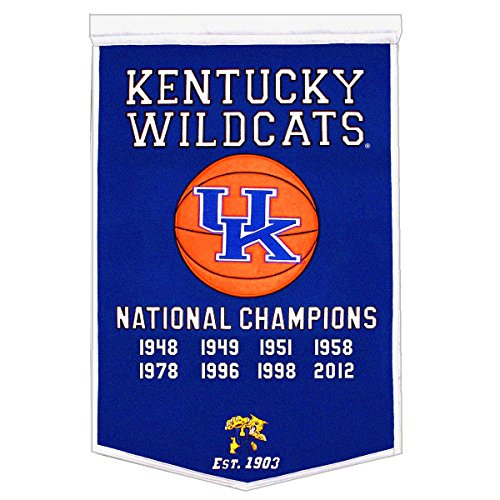 Winning Streak NCAA Kentucky Wildcats Dynasty Banner