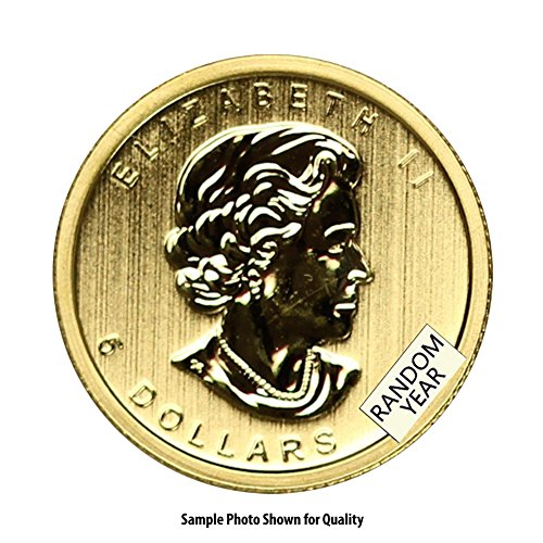 1979 CA -Present Canada 1/10oz Gold Maple Leaf (Random Year) $5 Brilliant Uncirculated