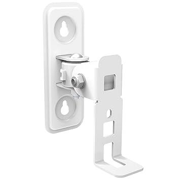 deleyCON Cajas Acústicas para Montaje en Pared para SONOS Play: 1 Giratorio Inclinable Multiroom Blanco: Amazon.es: Electrónica