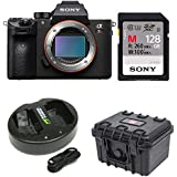 Sony a7R III 42.4MP Fullframe Mirrorless ILCE Camera 128GB Bundle