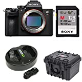 Sony a7R III 42.4MP Fullframe Mirrorless ILCE Camera 128GB Bundle For Sale
