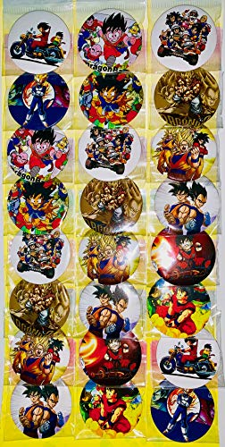 Dragon Ball Z Button Set ~ Birthday Party Favors ~ Set of 24 Random Dragon Ball Z Party Backpack 2