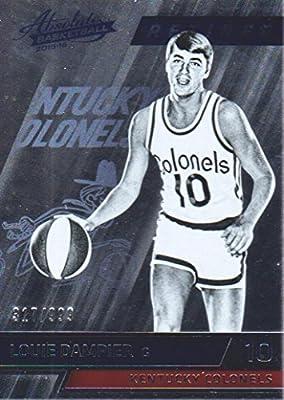 2015-16 Absolute Basketball #158 Louie Dampier /999 ABA Kentucky Colonels
