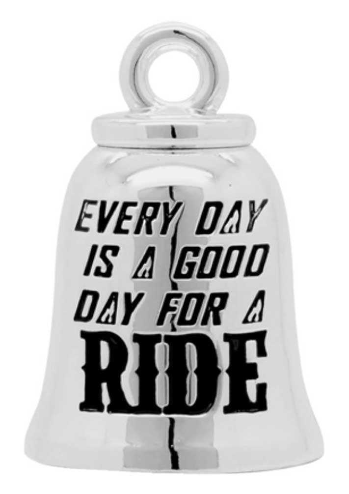 Harley-Davidson Good Day For A Ride Ride Bell, Sterling Silver, Silver HRB077