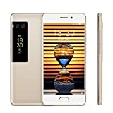 "Original Meizu Pro 7 Smartphone 4GB 64GB 5.2"" 19201080 Super AMOLED Screen Octa Core Helio P25 Dual Camera Two-sided Screen (Gold)"