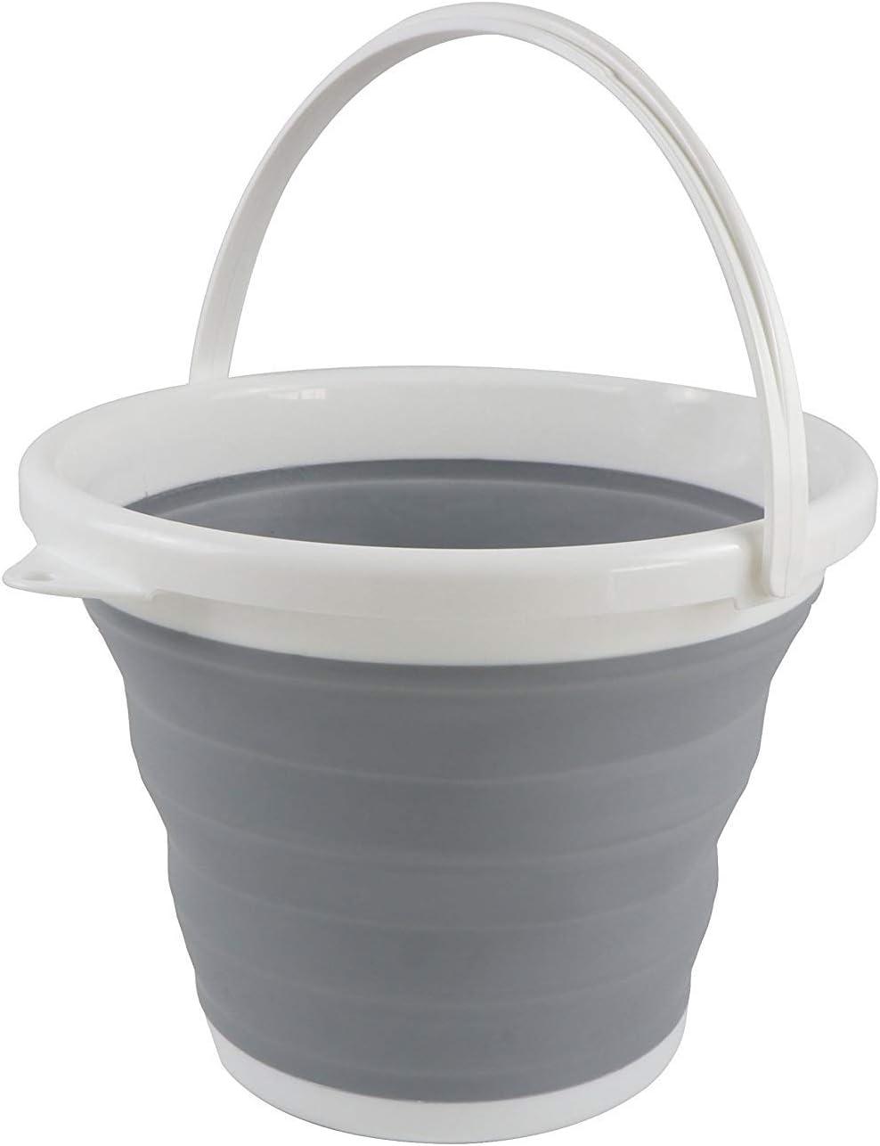 Grey Sutekus Collapsible Bucket 10 Litre