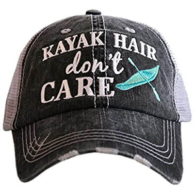 Katydid Kayak Hair Don't Care Women's Trucker Hat